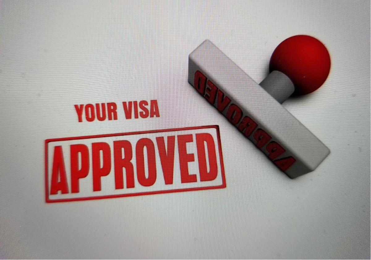 Your Visa Approved Stamp